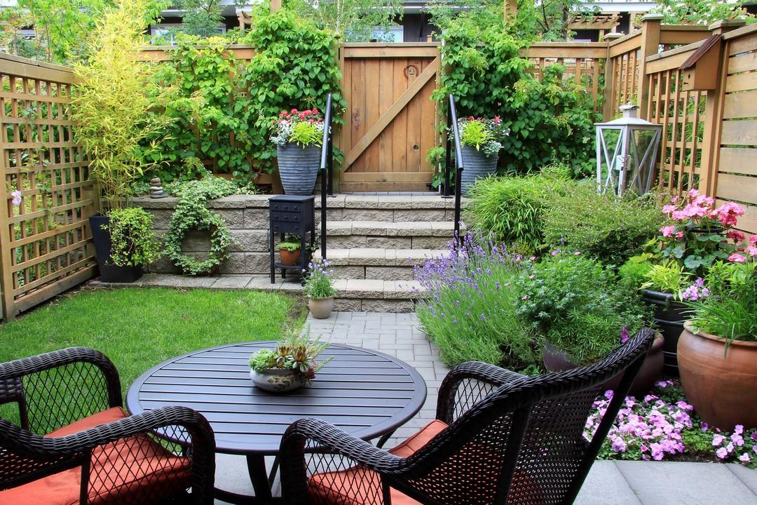 jardin installation